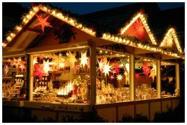 Advent auf dem Weihnachtsmarkt