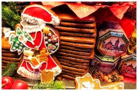 Auf dem Weihnachtsmarkt in Aachen